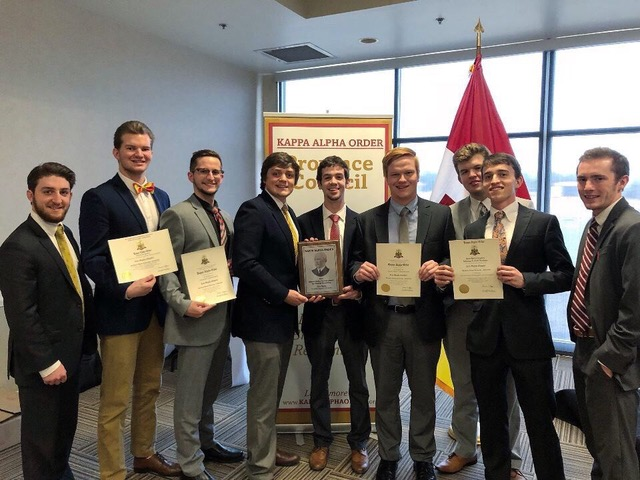 Members of the Kappa Alpha Order