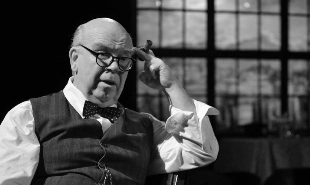Ron Keaton as Winston Churchill