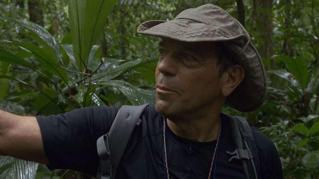 Steve Elkins in Honduran jungle
