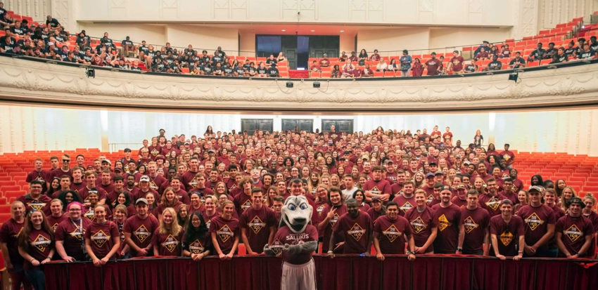 SIU's Class of 2023 group photo